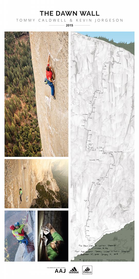 The Dawn Wall - AAC Publications - Search The American Alpine