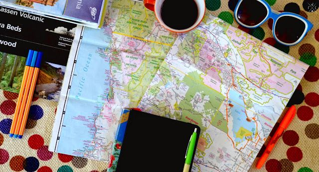 Voyager avec une carte routière #Voyage #Travel #Carte #Map