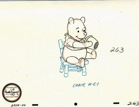 Disney's WDCC  Winnie The Pooh Sketch Numbered!   Walt Disney Classic Collection (WDCC) Winnie The Pooh Sketch. This Sketch was never sold but given as a gift when you were a Charter Member of the Walt Disney Classic collection and bought a sculptor every year to keep your charter membership up. This is very rare and hard to find.