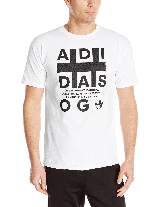 bf710f7c2cb0e Adidas Men's Originals Graphic Flux OG Tee. 100% Cotton Adidas ...