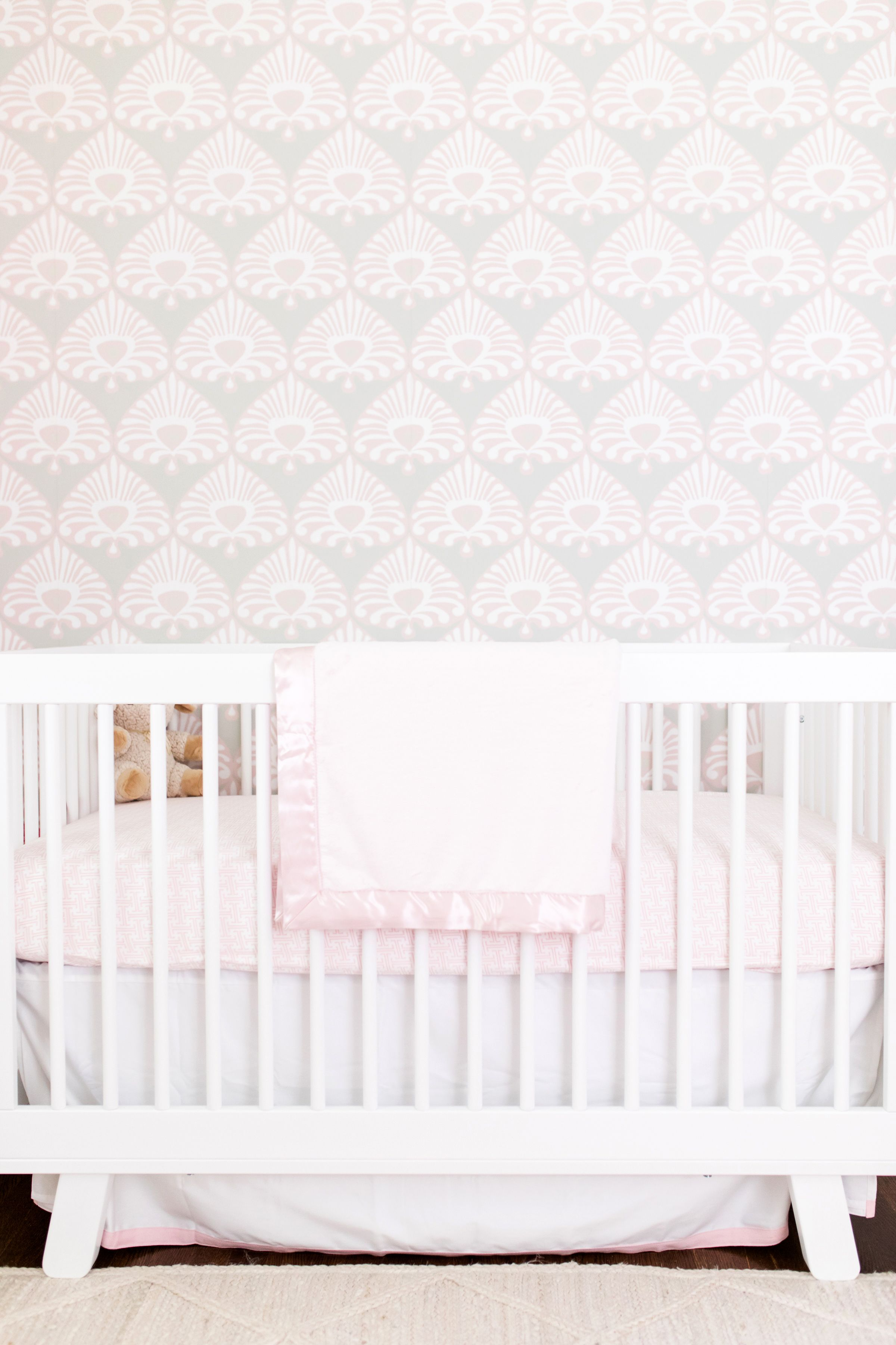 In The Nursery With Lemon Stripes