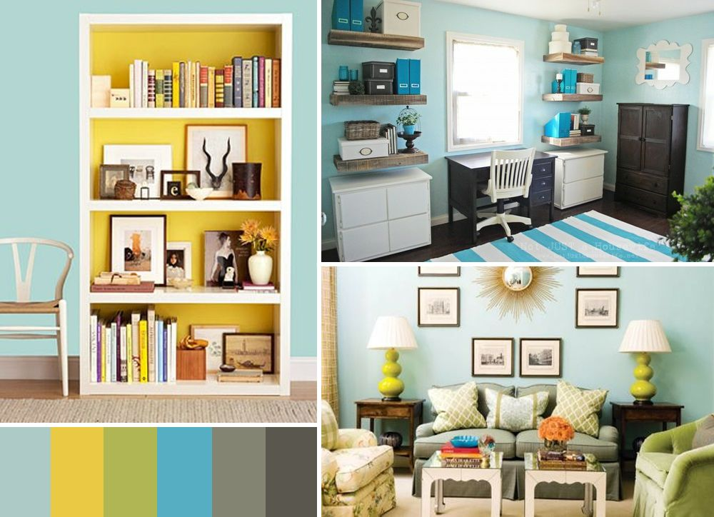 Best Blue Green Yellow Gray Living Room Color Schemes Brown Color Schemes Room Colors 400 x 300