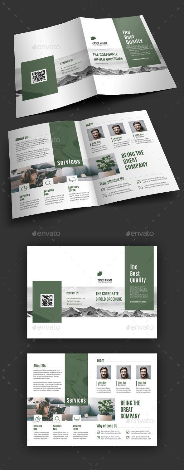 Photo of Bifold Brochure – Corporate Brochures #corporatedesign Bifold Brochure – Corpora…