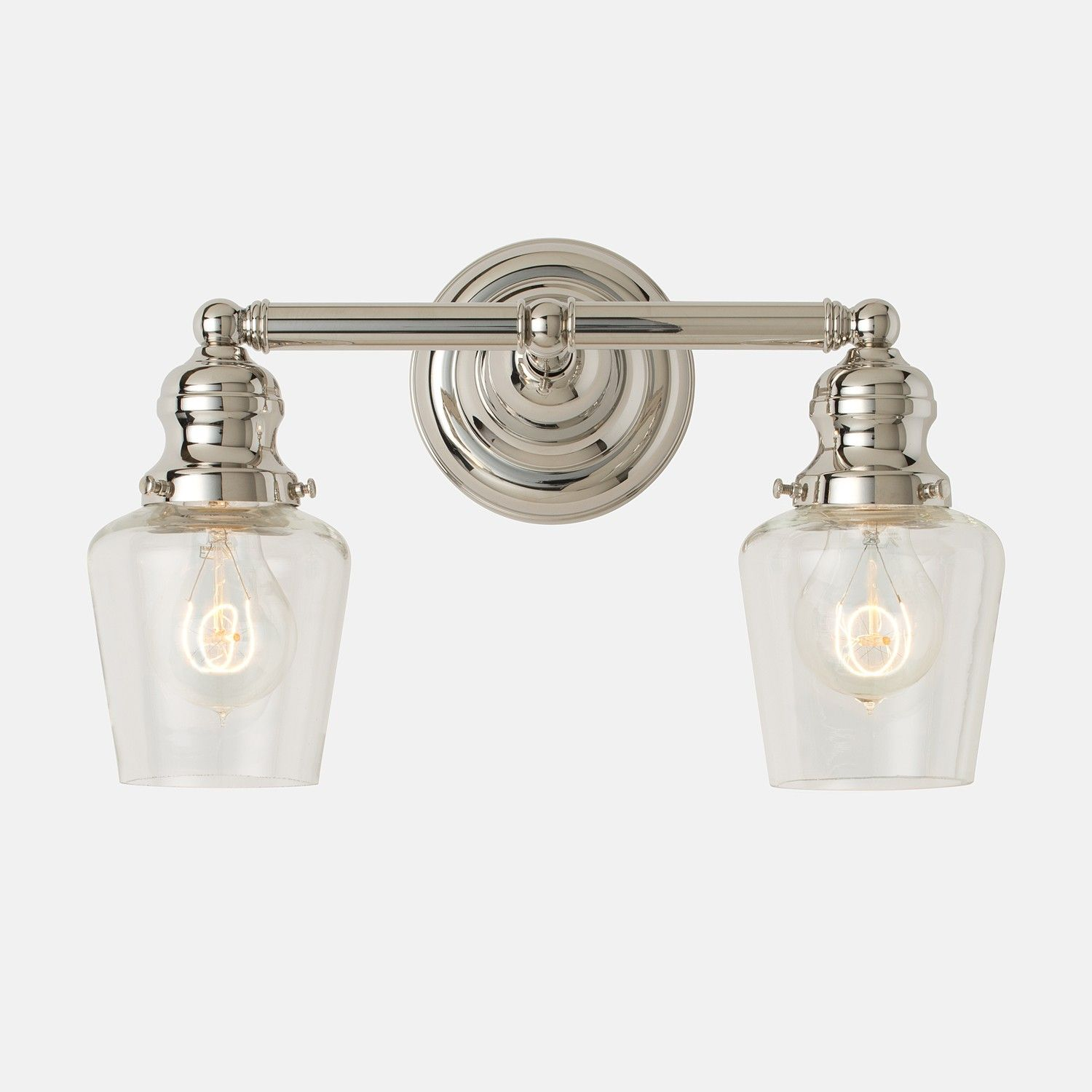 Explore Bathroom Lighting Fixtures And More! Montclair Double Sconce 2.25