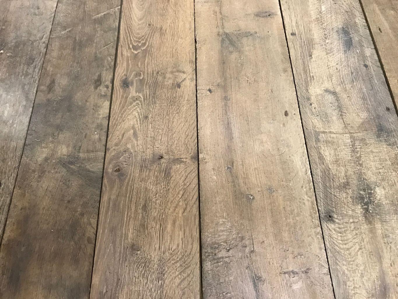Plancher Ancien De R Cup Ration En Vieux Ch Ne Patine Naturelle  # Plancher De Grange Ancien