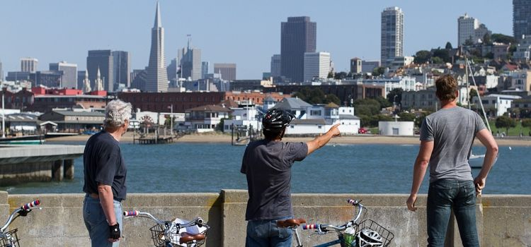You Can Rent A Bike From Fisermans Wharf And Cycle Over