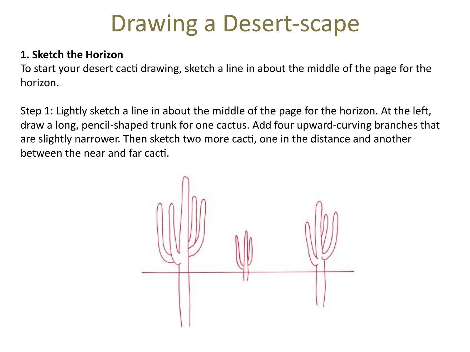 7th Graders Landscape Practice