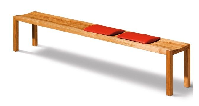The Solid Wood Loft Bench Has Curves For Maximum Comfort Solid