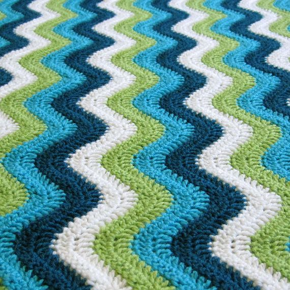 ETSY PAID CROCHET PATTERN and CHART: Smooth Ripple Baby by ...