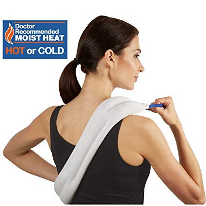 Carex Bed Buddy Heat Pad and Cooling Neck Wrap