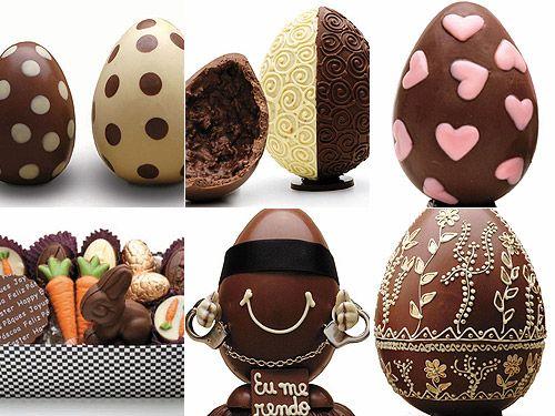 Ovos da Páscoa decorados páscoa em 2019 Easter chocolate, Egg cake e Chocolate sculptures -> Como Decorar Ovo De Pascoa De Chocolate