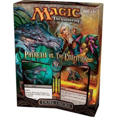The Coalition Factory Sealed Duel Deck Magic the Gathering MTG Phyrexia vs