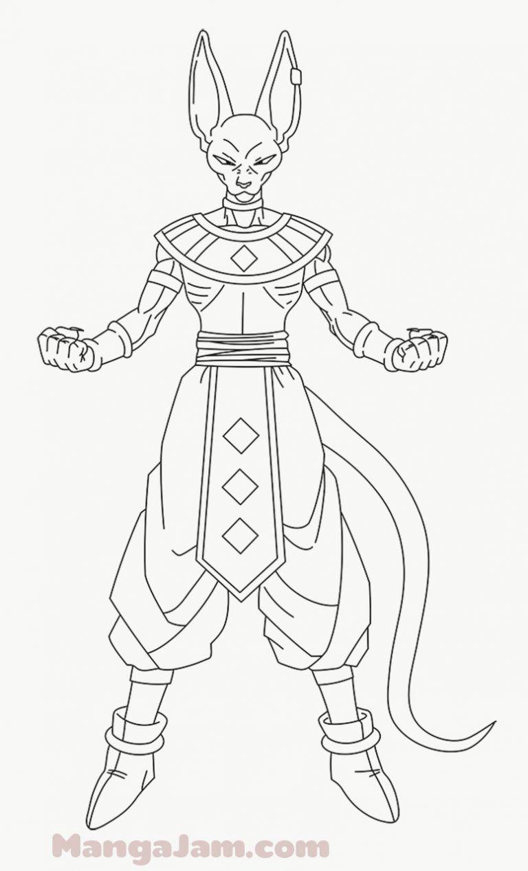 How To Draw Beerus From Dragon Ball Mangajam Com In 2020 Dragon Ball Artwork Dragon Ball Dragon Ball Art