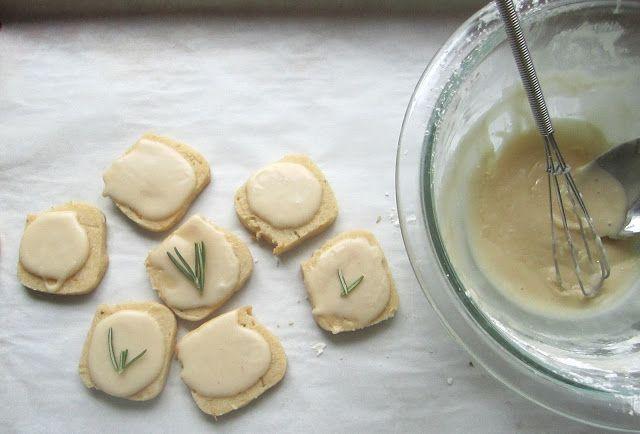 Gluten Free Vegan Bakerista: Gluten Free Meyer Lemon and Rosemary Icebox Cookies
