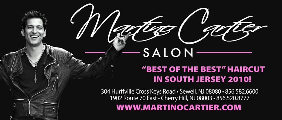 Great hair and great hair products!!!!! Martino Cartier