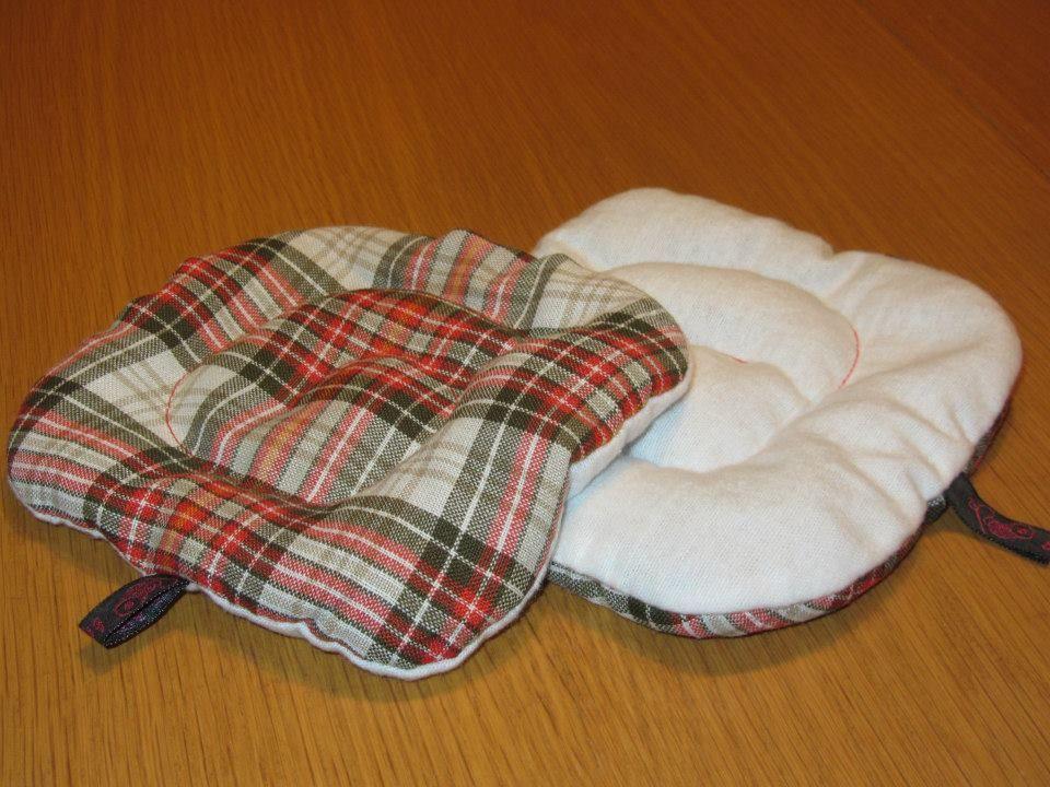 DinkelKissen mit kuscheliger Moltonseite für kalt&warm Kompressen