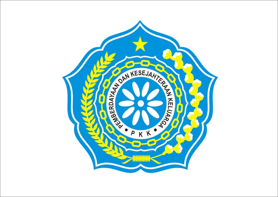 Logo PKK Vector Gambar, Tv dinding, Sekolah