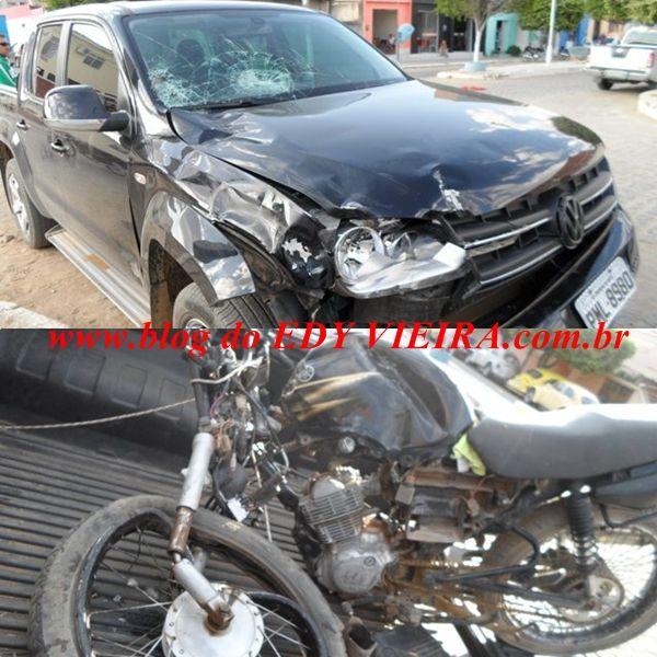 Blog Paulo Benjeri Notícias: Acidente com vítima fatal em Ouricuri, moto bate d...