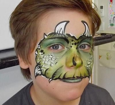 Fab Faces Face Painting And Glitter Tattoos Monster Face Painting