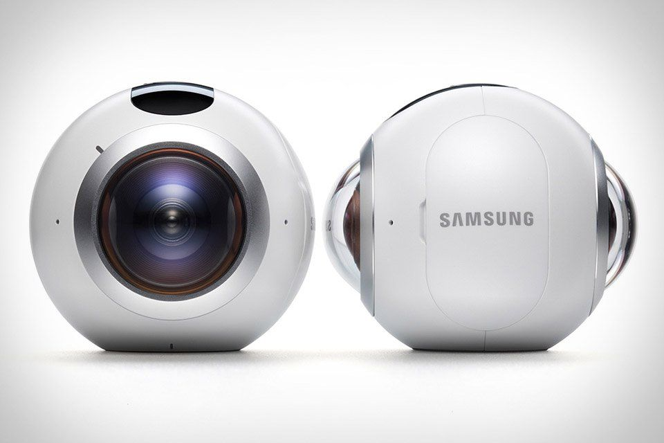 """Samsung Gear 360 VR camera to go on sale in """"select markets"""" on April 29 - http://vr-zone.com/articles/samsung-gear-360-vr-camera-go-sale-select-markets-april-29/109035.html"""