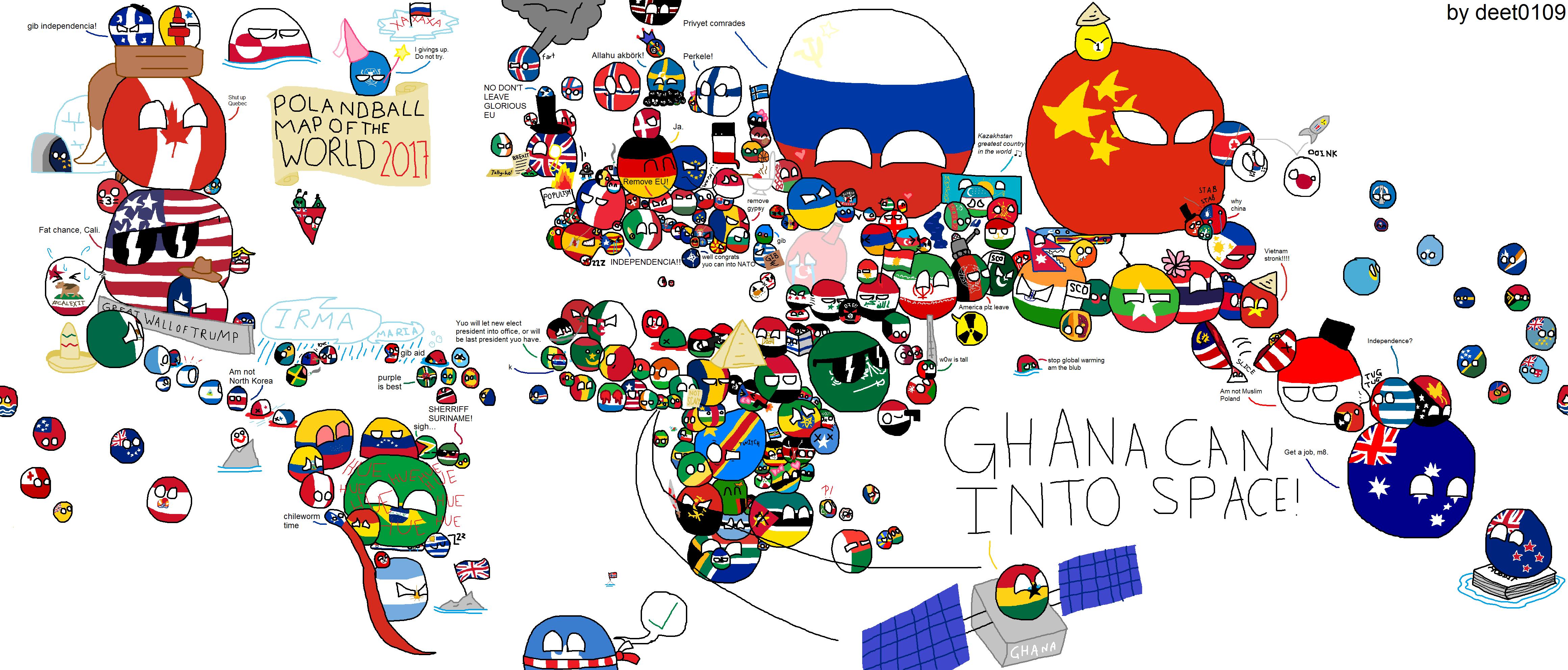 Polandball Map Of The World 2017.Polandball Map Of The World 2017 Myachiki Pinterest Funny