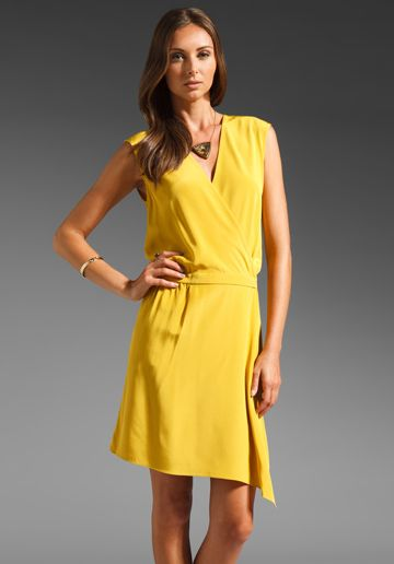 She S Hard To Miss Neon Wrap Dress Neon Yellow Fashion Nova Dress Short Dresses Casual Fashion