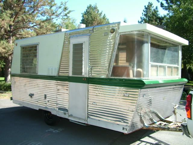 Holiday House Anyone Airstream Forums Holiday Home Vintage Travel Trailers Vintage Trailers