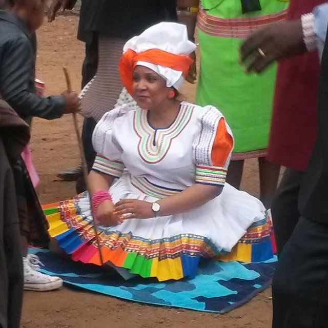 Sepedi Traditional Attire Pinterest Africans