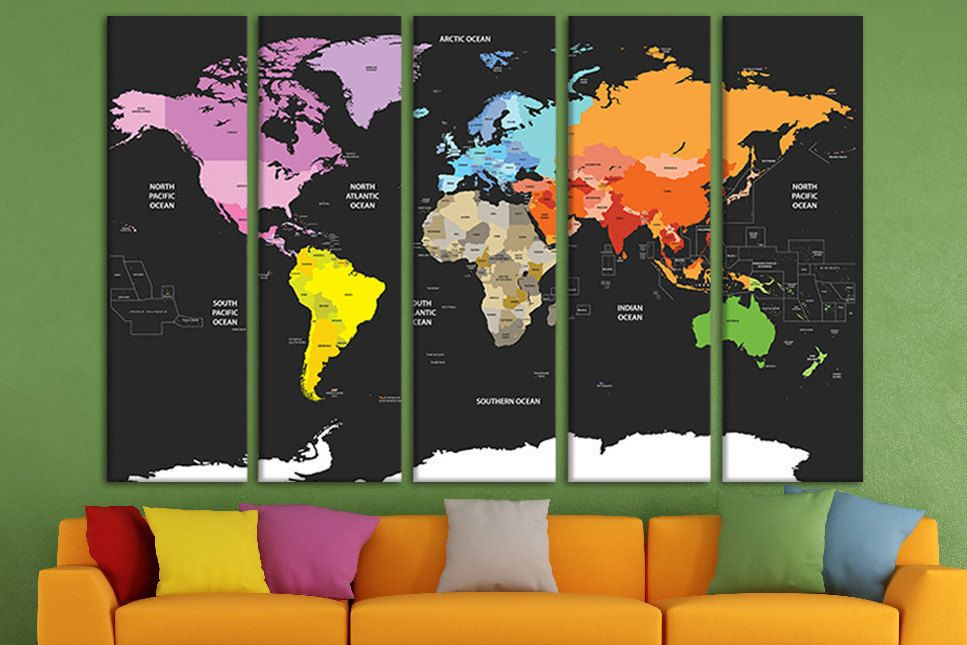 Push pin world map travel map push pin world map wall art push pin push pin world map travel map push pin world map wall art push pin world wall art large world map canvas map wall art world map pin canvas gumiabroncs Image collections