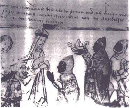 crowning of the Muurish (Moorish) Kings -- likely in the