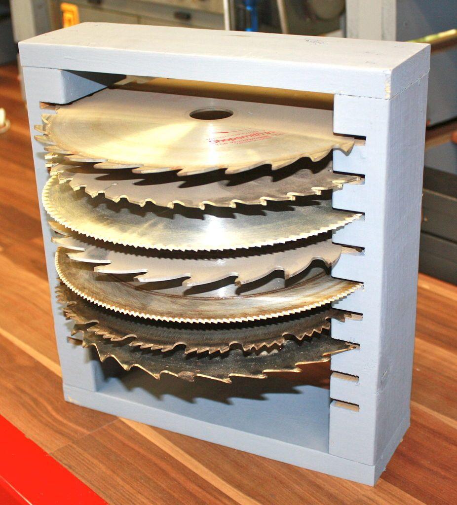 Free 10 saw blade holder blade storage and scrap - Organizador de herramientas ...