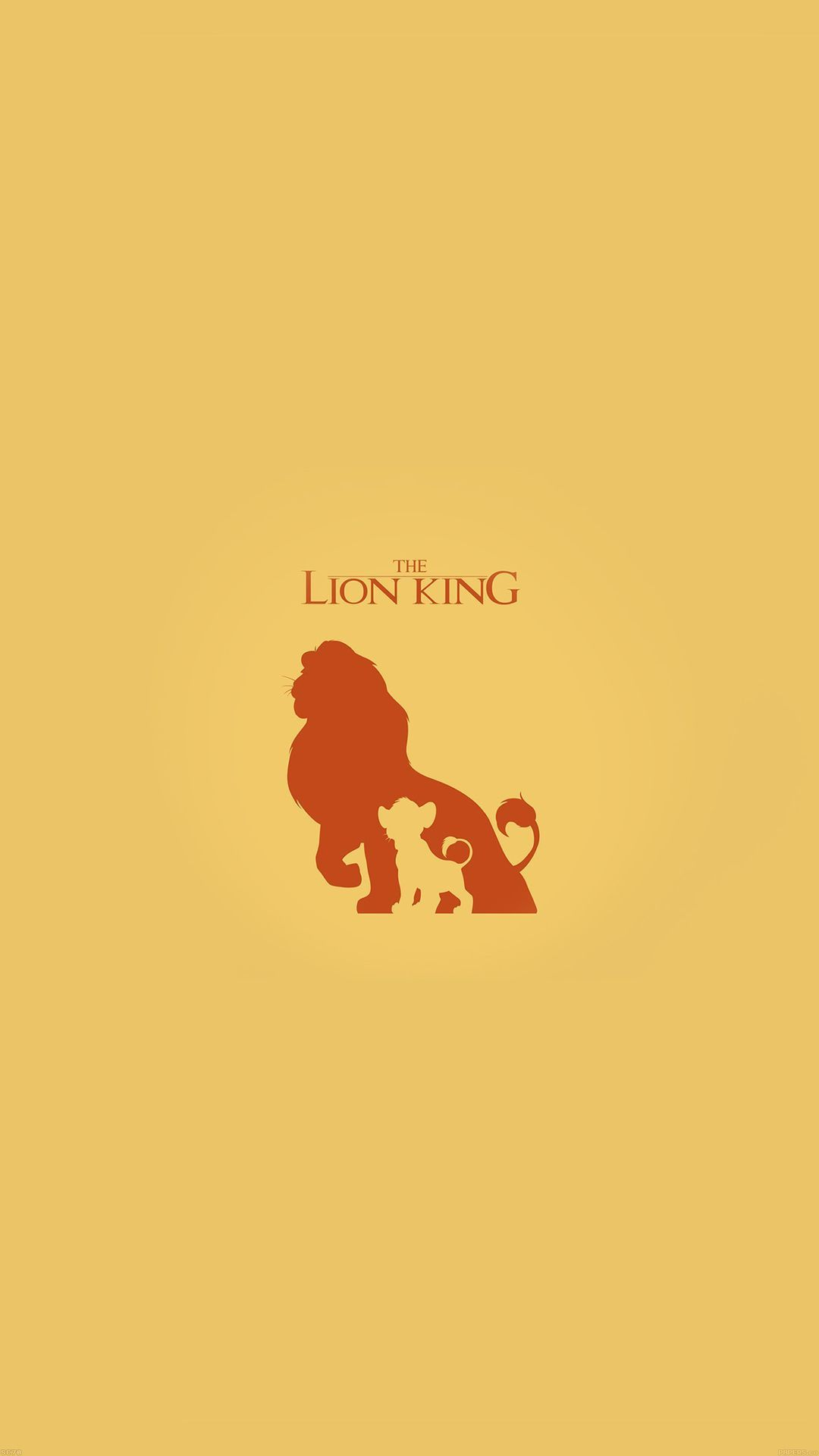 Download The Lion King Disney Minimal Iphone Wallpapers For Disney