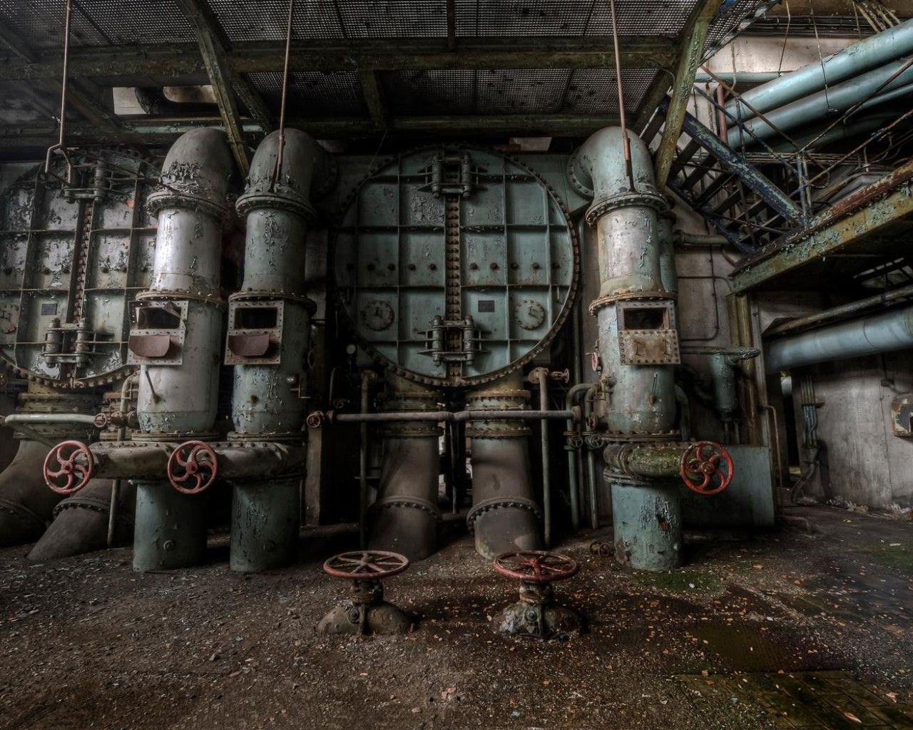 factory wallpaper 8382 | warehouse in 2019 | Abandoned ...