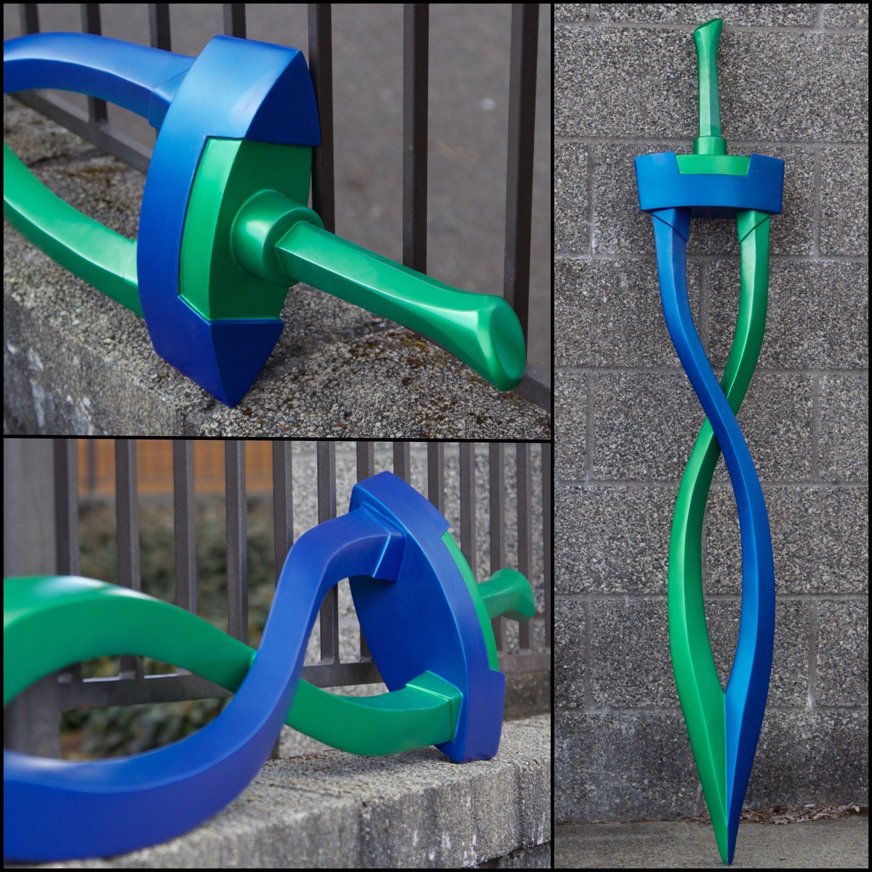 Fierce Deity Link Sword (Majora's Mask) by Coregeek | My Creations ...