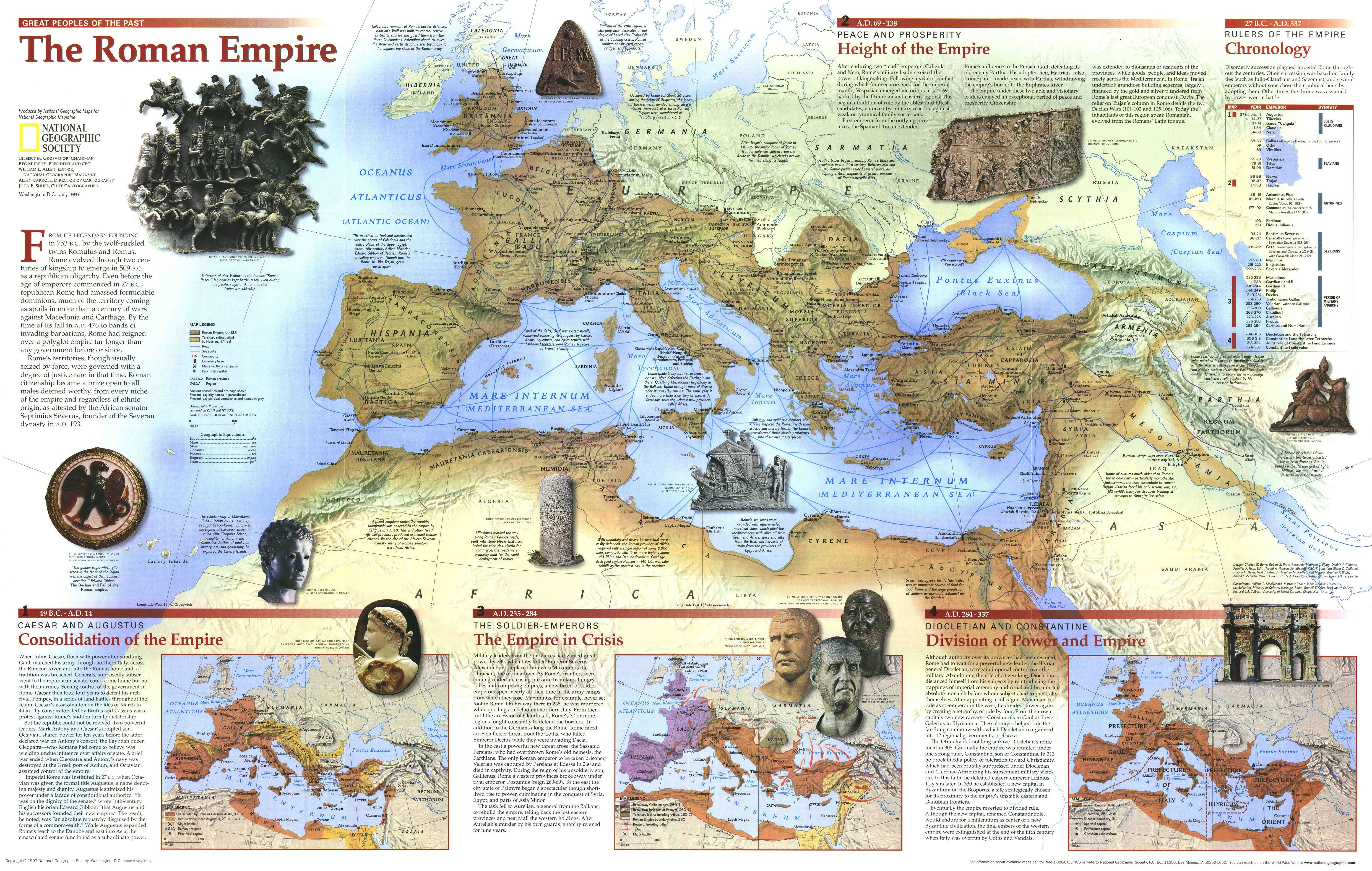 National Geographic The Roman Empire Maps Are Always - Map of egypt national geographic
