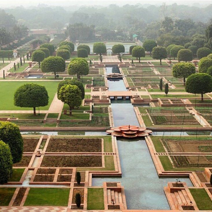 Heres A Sneak Peek Of The Mughal Gardens At