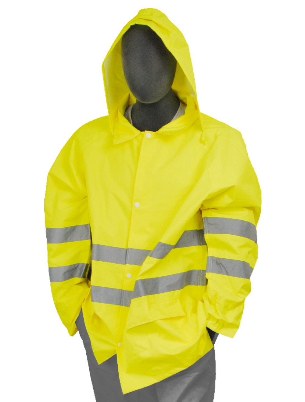 Safety Jacket Majestic 75 1351 Cl3 Hi Vis Yellow Rain Jacket Rain Jacket Yellow Rain Jacket Jackets