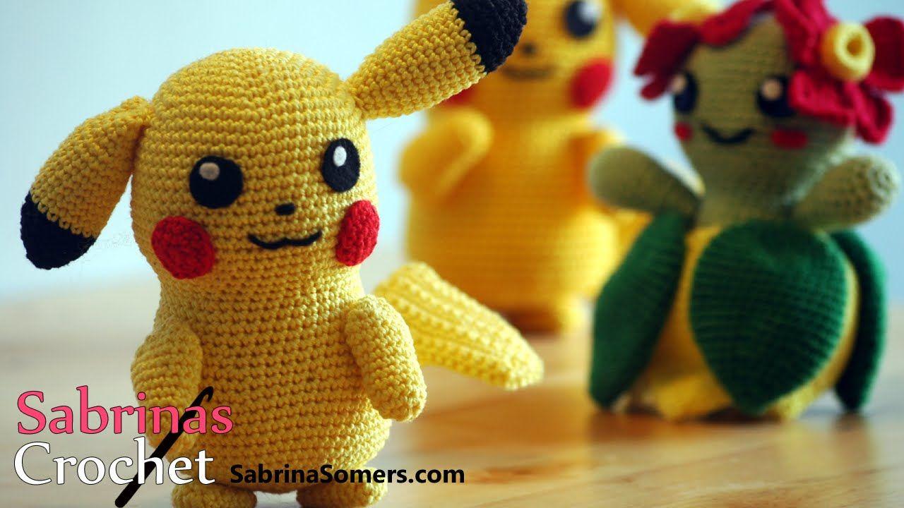 Amigurumi Patterns Pikachu : Crochet pikachu pikachu haken [pokemon][amigurumi] crochet