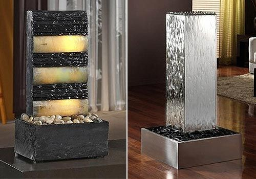 Fuentes Interiores Decorativas Fuentes Pinterest