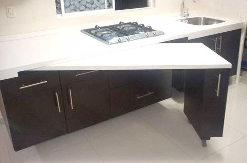 Modern Space Saving Furniture #kitchenfurniture