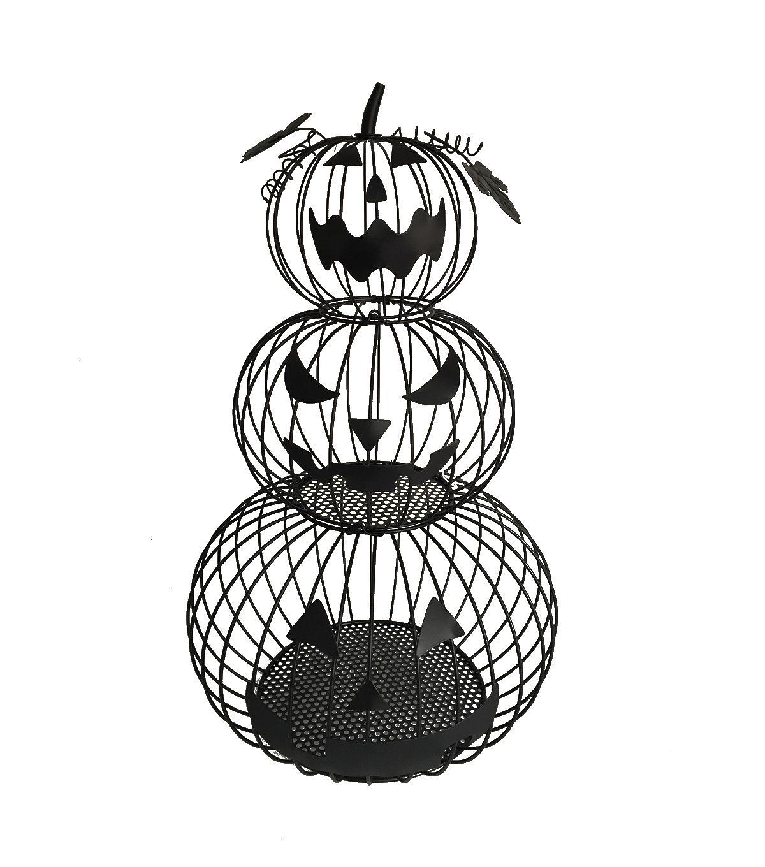 Maker\u0027s Halloween Stacked Wire Pumpkins, Halloween