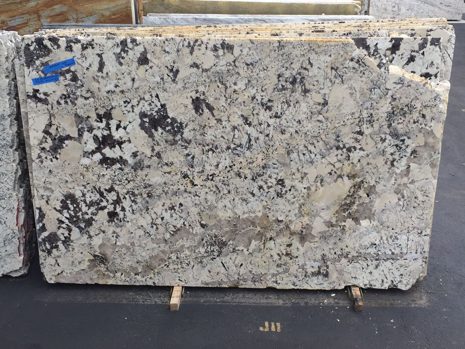delicatus white granite is a stunning stone famous for its remarkable white bedrock and dark. Black Bedroom Furniture Sets. Home Design Ideas