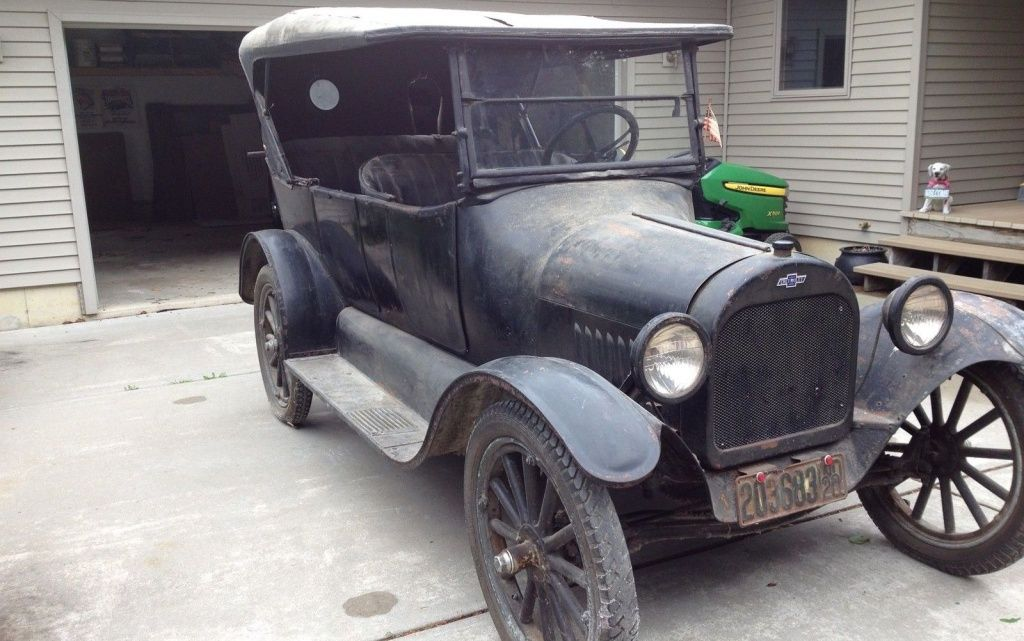 Model T Fighter: 1920 Chevrolet 490 Touring | Chevrolet, Barn finds ...