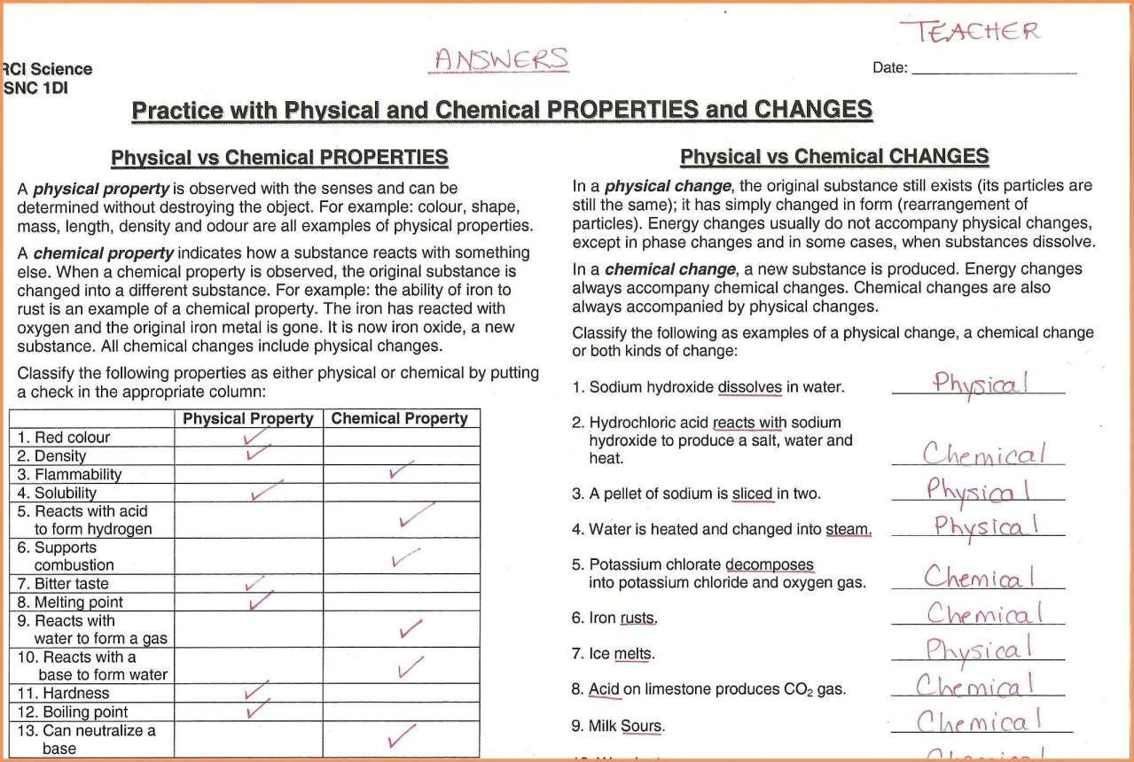 12 Changes In Matter Worksheets 2nd Grade