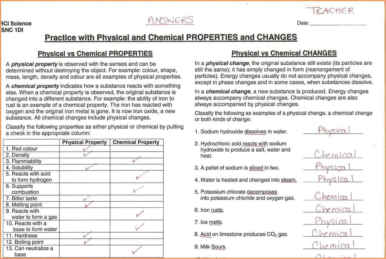 12 Changes In Matter Worksheets 2nd Grade