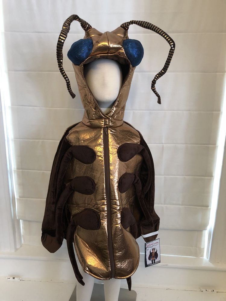Cockroach Stink Giant Bug Kids Costume Insect Boutique Halloween 3T 4T 5T NEW