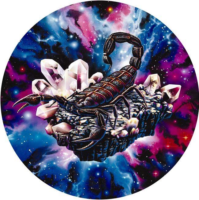 Modele De Tatouage Scorpion Cosmique