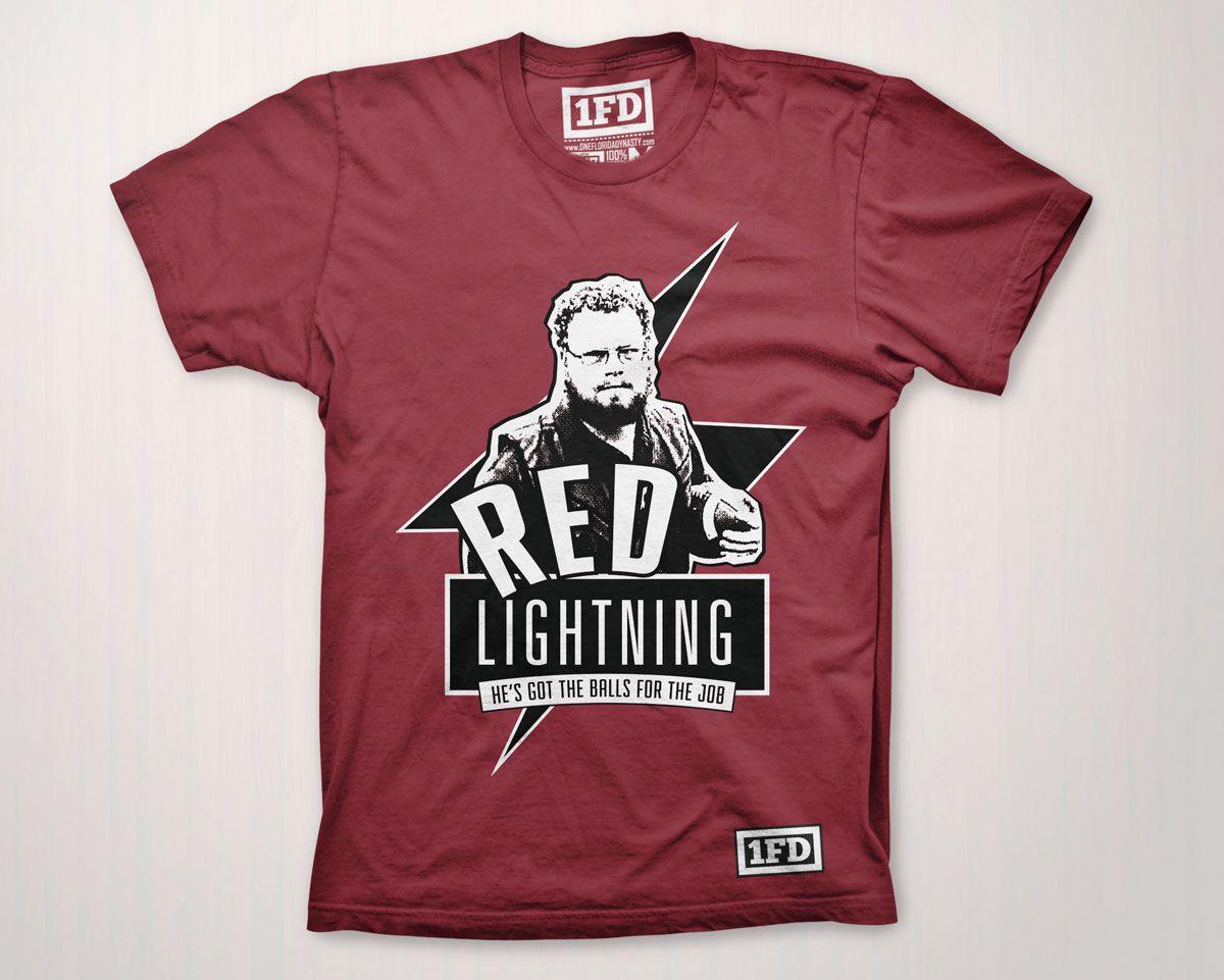 Red Lightning Fsu T Shirt The Hippest Pics