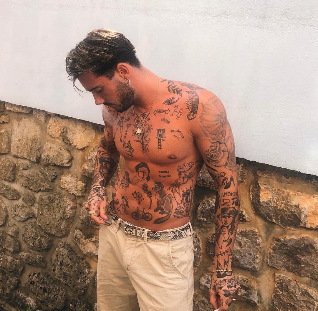 Random Tattoo Sleeve: Small Chest Tattoos, Boy Tattoos