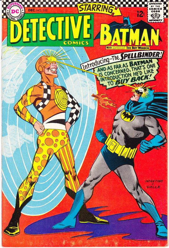 Detective Comics 358 DC Comics Batman Robin The The Boy Wonder Elastic Man 1966 VF- by LifeofComics #comicbook